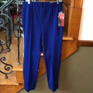 Style & Co. Royal Blue Retro Stirrup Pants